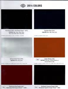 harley davidson paint colors 2013 harley davidson color chart autos post