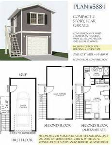 2 story apartment floor plans carriage lane way house art studio and vrbo on top floor two story 1 car garage plan 588 1