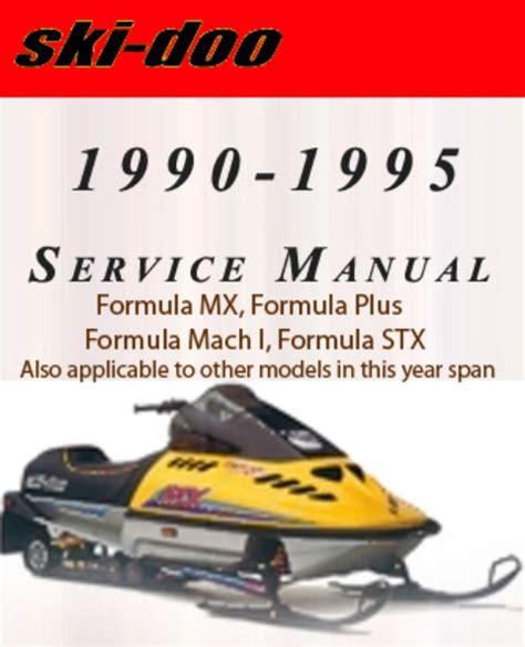All Ski Doo Service Repair Manual 1990 1991 1992 1993 1994