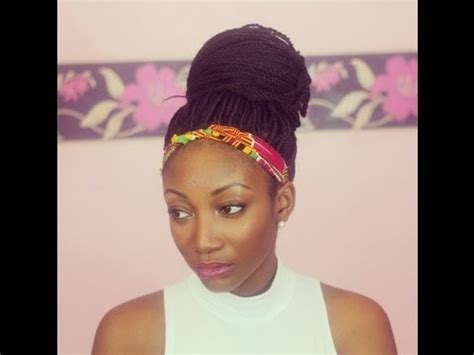 different senegalese style styling senegalese twists 4 simple styles youtube