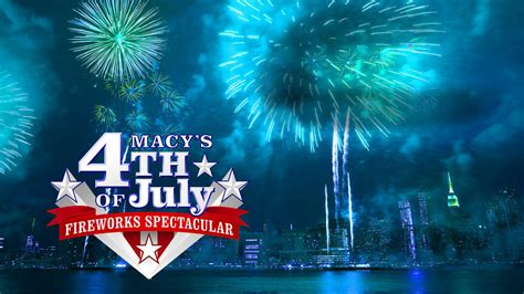 macy s fourth of july fireworks spectacular on nbc
