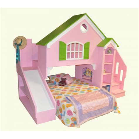 Toddler Bunk Beds Plans Bunk Bed With Slide Furniture Ideas
