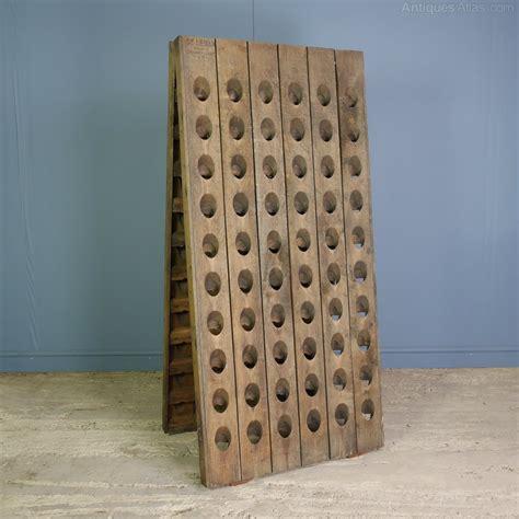 antiques atlas vintage oak chagne riddling rack