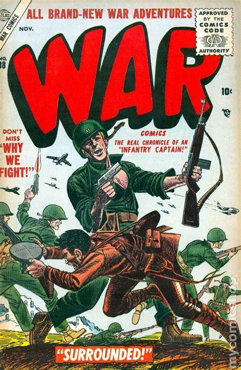 Comic Books In Wars X war comics 1950 atlas comic books
