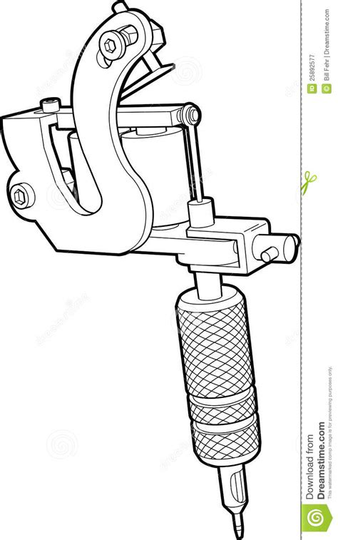 art machine tattoo gun clipart clipart suggest