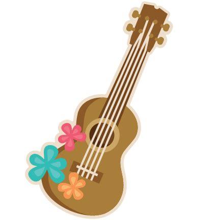 White Flower Lei - ukulele svg scrapbook cut file cute clipart files for