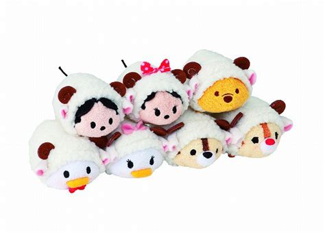 Seprei Set Motif Tsum Tsum disney welcomes 2015 with special edition sheep tsum tsum