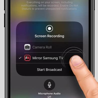 how to mirror your iphone or to a samsung tv without