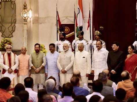 Union Cabinet Reshuffle by Cabinet Rejig Modi Govt Places Thrust On Both Merit And