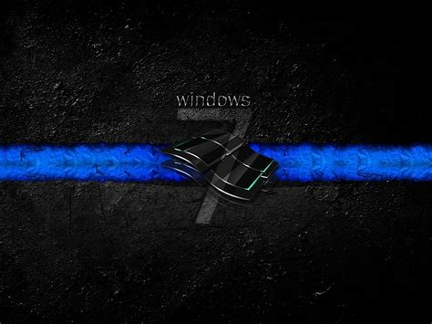 descargar fondos de escritorio windows 7 windows 7 negro fondo de pantalla fondos de pantalla gratis