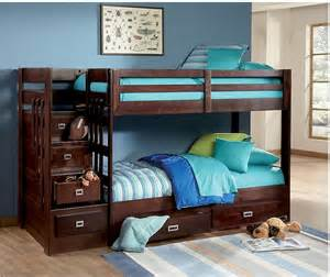 bunks beds berkeley staircase bunk bed the brick