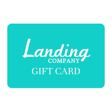 Redeem Gift Card Online - landing company gift card landing company