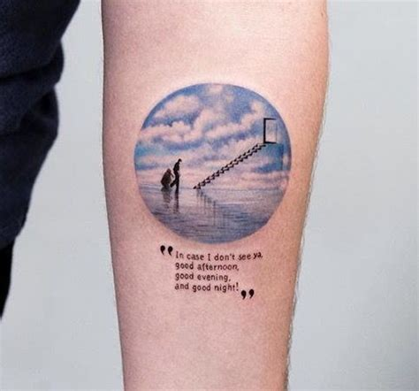 new york tattoo reality show love this the truman show tattoo done by eva krbdk at