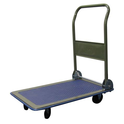 olympia 300 lb capacity folding platform cart 85 180