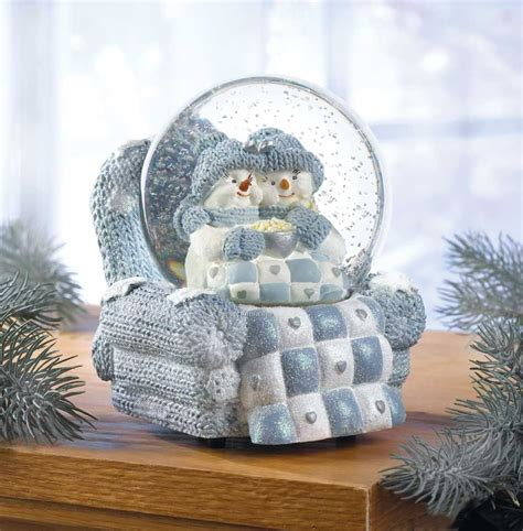 snow buddies musical snow globe china wholesale snow