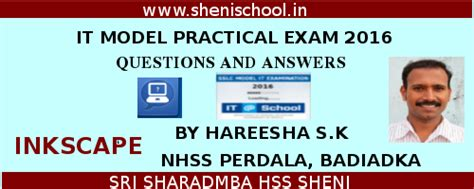 F1 Questions And Answers For Mba by Sri Sharadamba Hs Sheni It Model Practical Questions