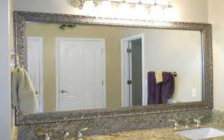 framed bathroom mirrors ideas creative bathroom mirror ideas