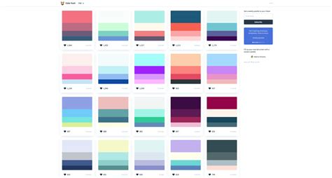 color hunt top 5 color palette generators digital medium