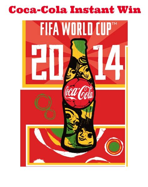 Instant Prizes To Win - coca cola icee soccer instant win 3 600 prizes