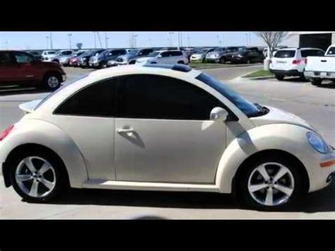 preowned  volkswagen  beetle amarillo tx youtube