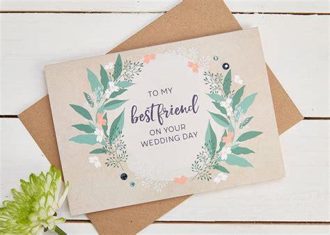 wedding card for best friend invitation best friend wedding day card 2686340 weddbook