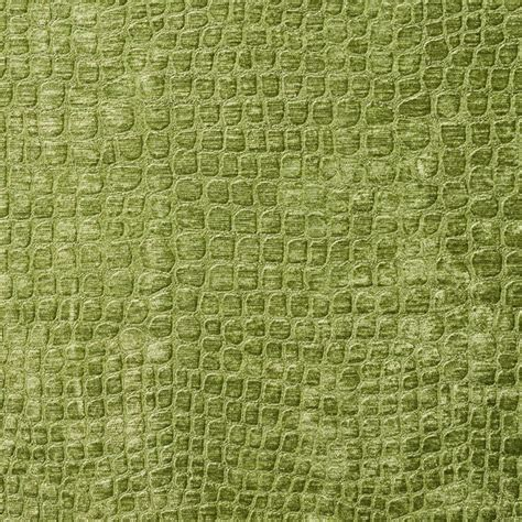 Green Upholstery Fabric Lime Green Alligator Print Shiny Woven Velvet Upholstery