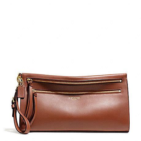 82 coach clutches wallets coach bleecker leather large clutch f51360 brass cognac coach handbags clutches www coach