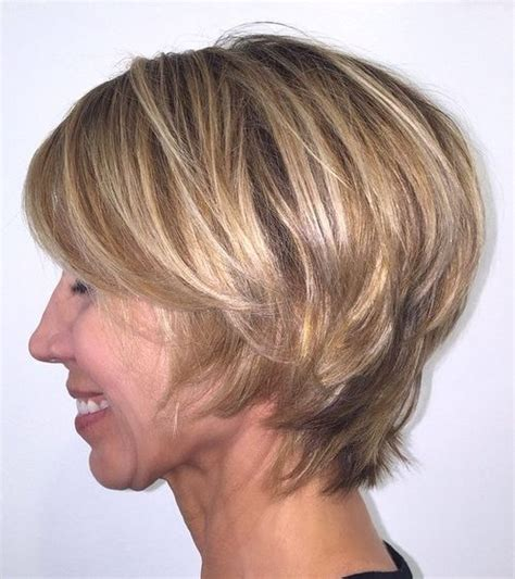 layered short hairstyles for older women 50 trendiest short blonde hairstyles and haircuts