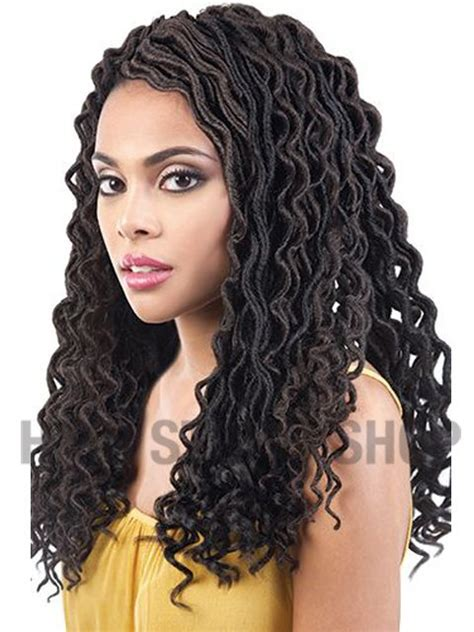 beshe kinky twist beshe feather lite curly faux locs crochet braid 3pc 18