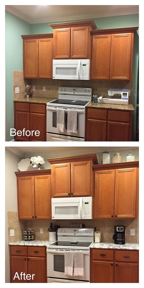 previous kitchen makeover with contact paper before and rental kitchen update faux marble countertop contact