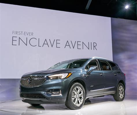 New Buick 2018 Enclave by All New 2018 Buick Enclave Avenir Debuts At New York Auto