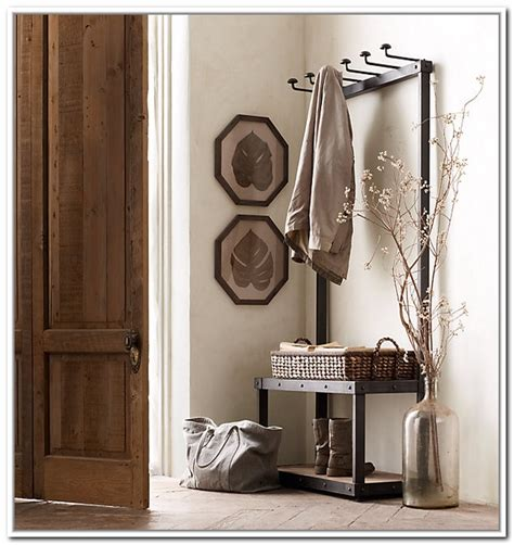 Entryway Rack metal entryway storage bench with coat rack general storage entryway