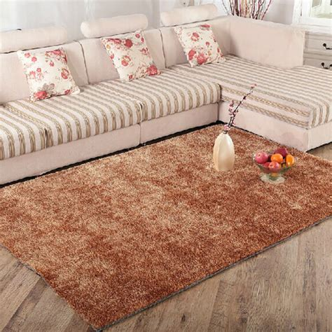 silk bedroom simple coffee table living room carpet high grade