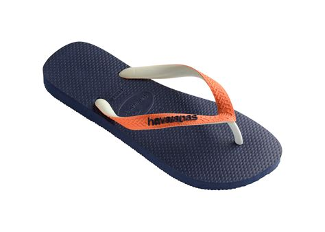 havanas slippers havaianas flip flops havaianas top mix navy neon orange