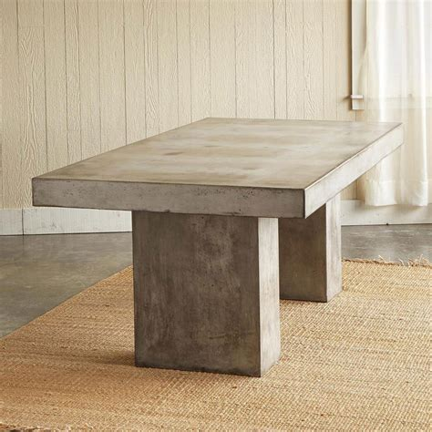 Cement Table by Gravitas Cement Table So That S Cool