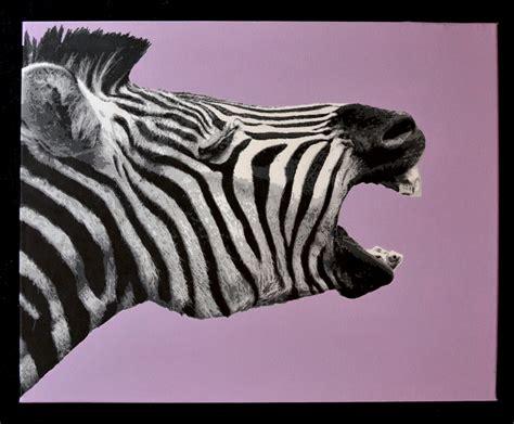 zebra stencil images