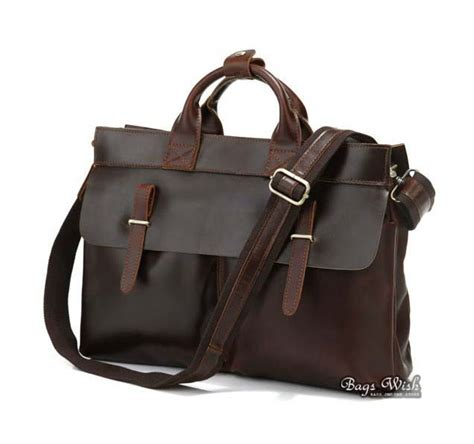 Bag Coffee Brown Tas Slempang Sling Laptop Unisex Sekolah Kuliah real leather satchel bags handmadecraft leather unisex real leather messenger bag for laptop