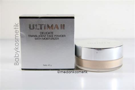Bedak Translucent Ultima toko kosmetik dan bodyshop 187 archive ultima ii delicate translucent powder with