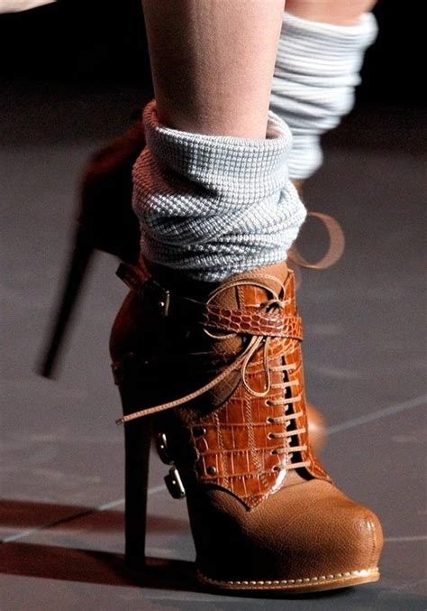 boot socks with heeled ankle boots fashion