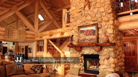 Cottage Home Interiors by Snowbasin Luxury Log Home Youtube