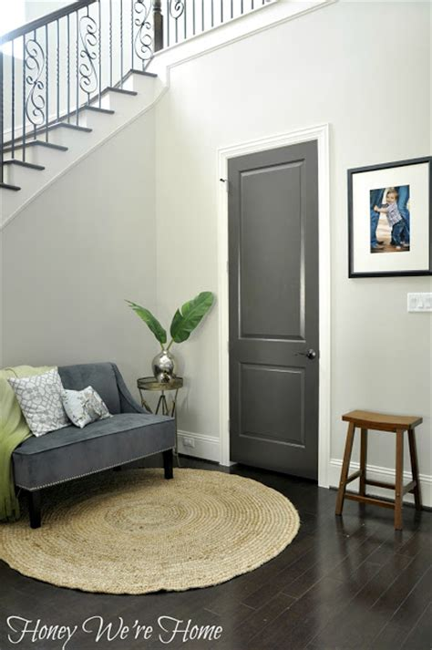 honey we re home black gray painted interior doors