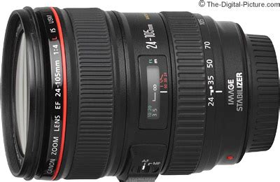 canon ef 24 105mm f/4l is usm lens review