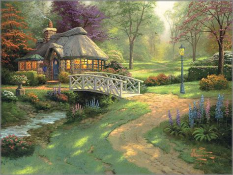 Kinkade Cottage Collection kinkade friendship cottage classics collection