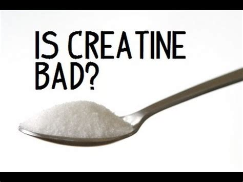 creatine is bad is creatine bad my thoughts and commentary furious pete