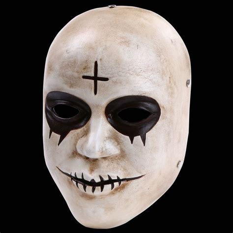 Masker 6 In 1 The 1 1 the purge mask god mask anarchy sandin god mask replica resin mask for