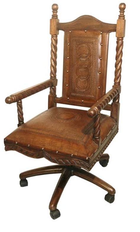 soloman leather office chair western office furniture