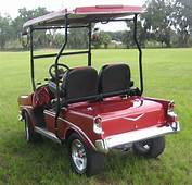 56 Chevy Custom Golf Cart Body Kits CLUB CAR DS/PREC/EZGO TXT RXV