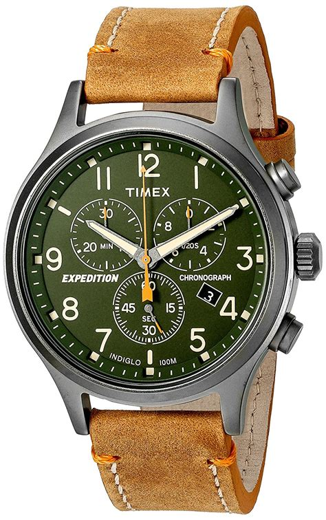 Expedition Exp301ma Chrono Mens Original 1 timex mens tw4b044009j expedition scout chrono green