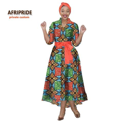 Dress Batik Free Belt 2017new batik fabrics dress with headscarf and