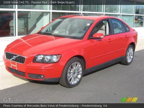 passion red  volvo   dark beigequartz interior gtcarlotcom vehicle archive